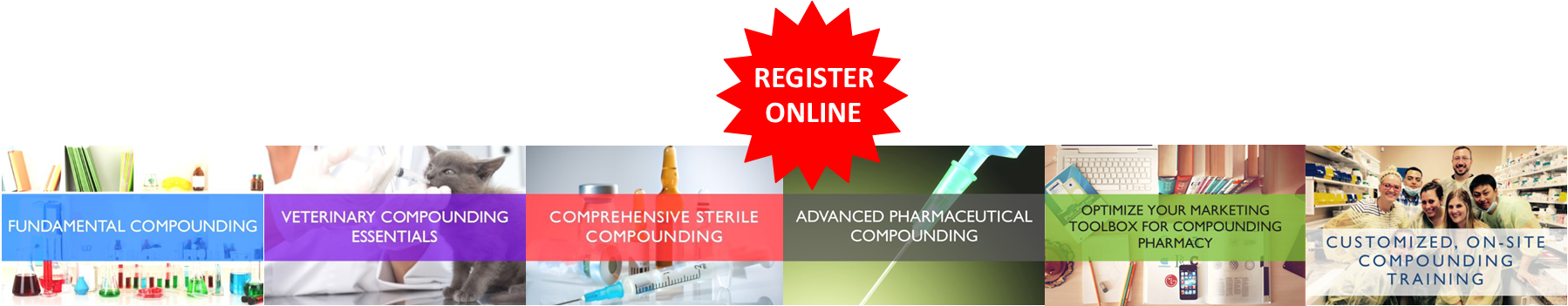 2020 Compounding Training Courses Header